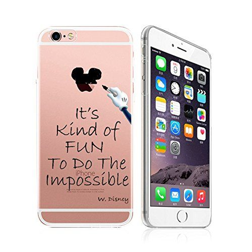 Clever and Adorable Disney Quote Phone Case for Apple