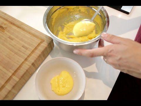 Hollandez Sos Tarifi - İdil Tatari - Yemek Tarifleri - YouTube