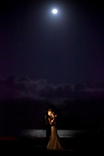 WPJA 2010 Q3 Contest - LIT PORTRAIT - 9th Place - Photo By: Brandon Wong from Southern California, United States  Judges Comments:  The moon, the sky, a lake and a very sweet moment all combined make this a beautiful image. Photographer successfully uses light to just highlight their faces as the rest of the image fades into the moonlight.  More photos/info at http://www.WPJA.com/