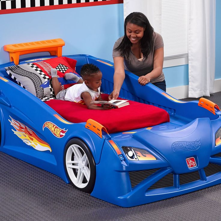 exciting toddler car bed