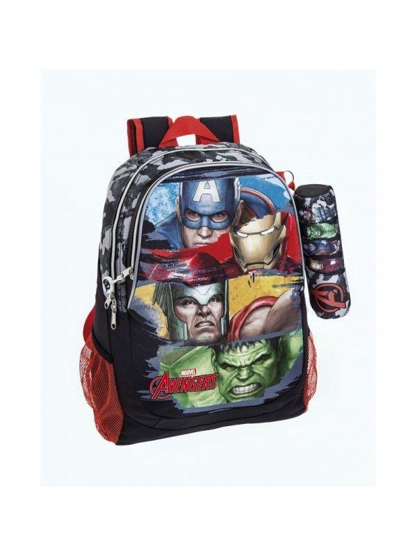 AVENGERS rygsæk der er stor nok til brug som skoletaske