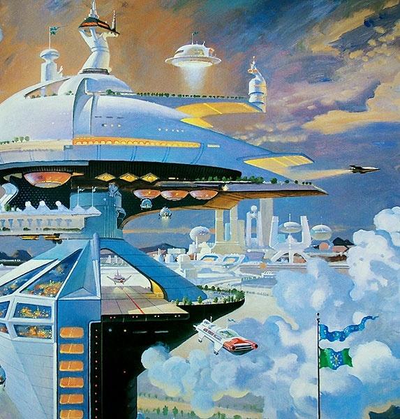 Megastructure 21st // Illustration: Robert McCall