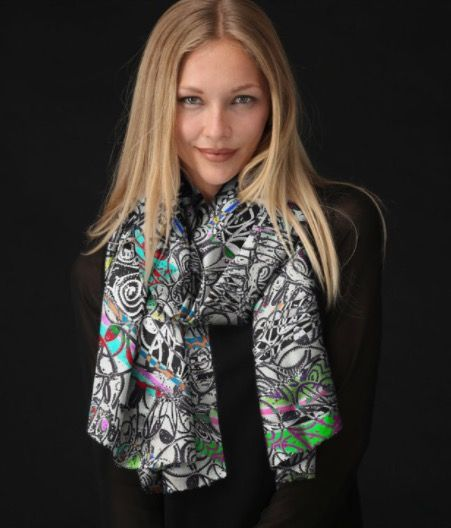 Modal Scarf - Cant Live Without You by VIDA VIDA 2kl7Kc
