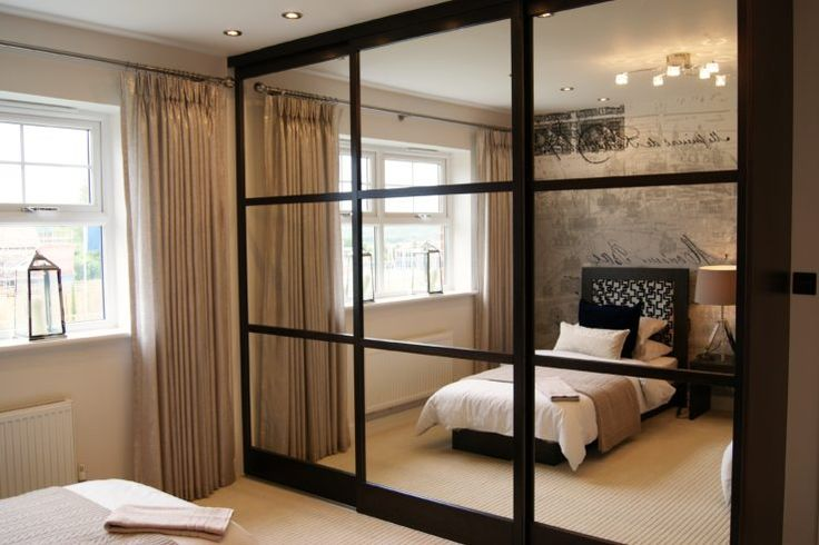 Cliveden Grange development has been fitted with high quality solid wood sliding wardrobe doors by Draks.