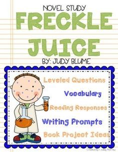 Freckle Juice *Packed with CCSS aligned Activities