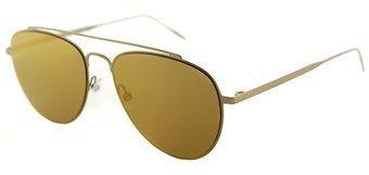 Tomas Maier Tm0008s 006 Teardrop Gold Aviator Sunglasses.