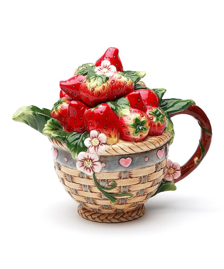 Look at this Strawberry Teapot on #zulily today!