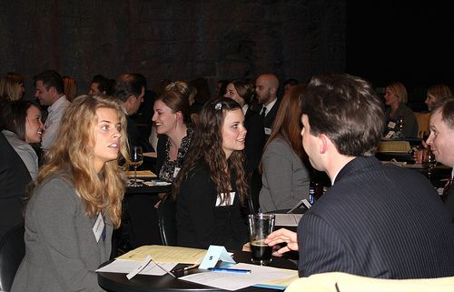 Student and Alumni Speed Networking 2012