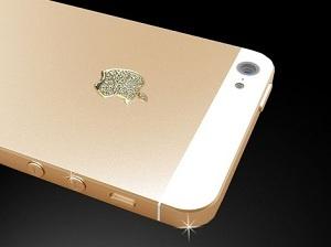 iPhone 5 oro 24 carati