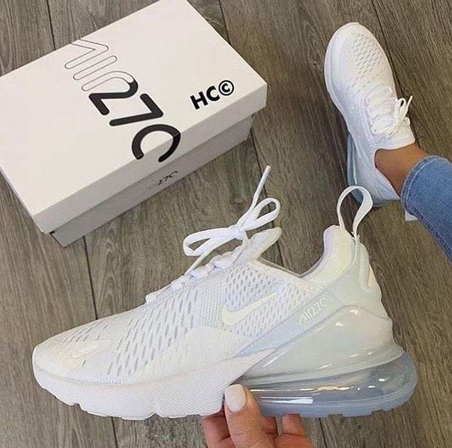 Nike Air Max 270   White nike shoes
