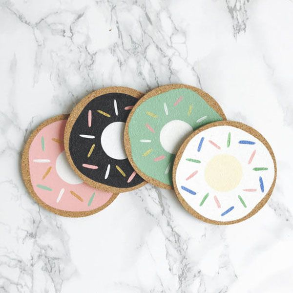 product image for Donuts Cork Coasters