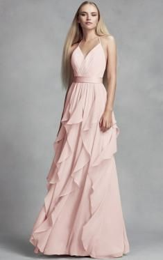pink bridesmaid dress, pale pink bridesmaid dress, blush bridesmaid dress, pastel pink bridesmaid dress