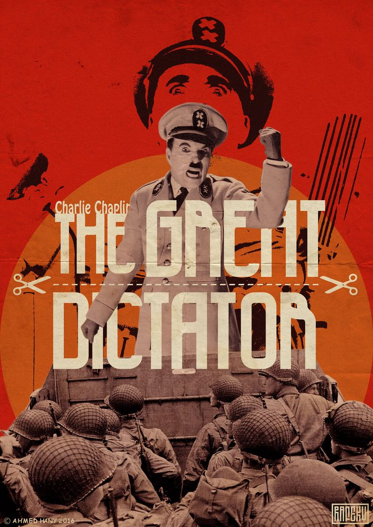 The Great Dictator poster Best movie posters, Charles