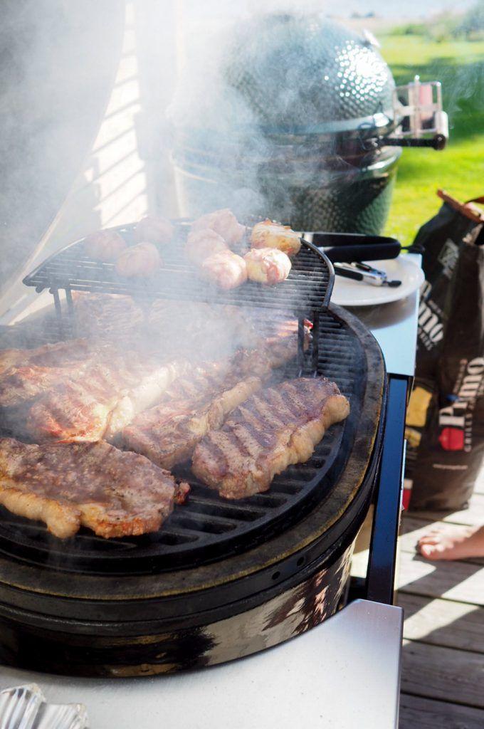 ulkofileepihvit grillissä