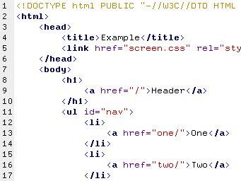 HyperText Markup Language (HTML) Potresti essere sorpreso nell'apprendere che le pagine interattive e ricche di grafica che vediamo sul Web sono in realtà generate da semplici documenti di solo testo (source document). Le pagine Web utilizzano un linguaggio di markup chiamato HyperText Markup Language o HTML, che è stato creato appositamente per i documenti con collegamenti ipertestuali.