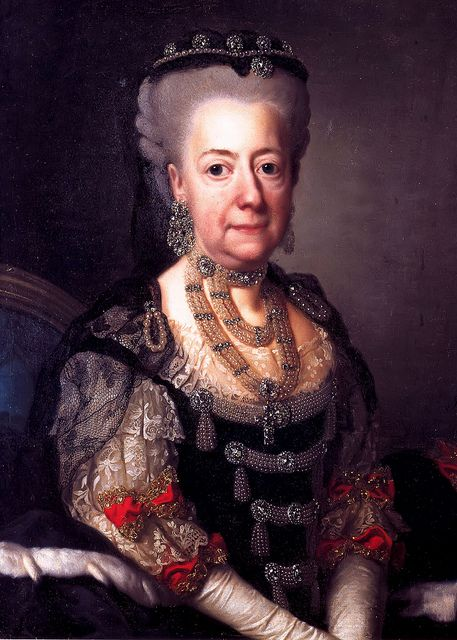 1775 Luise Ulrike of Prussia, Queen of Sweden by Alexander Roslin