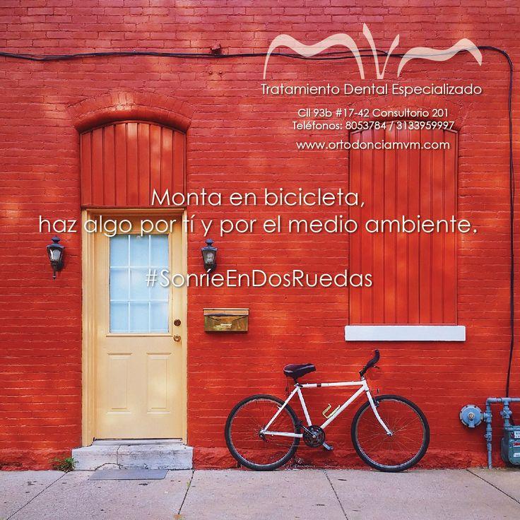 Montar bicicleta es el mejor ejercicio para tu salud y tu sonrisa #sonrieendosruedas #FelizJueves www.ortodonciamvm.com Consultas: 8053784 - 6363236 Móvil 313 395 99 97 WhatsApp 321 4595296 #OdontologiaBogota #Ortodoncia #Odontologia #SaludOral #ClinicaOdontologica #Belleza #Braquets #Blanqueamiento #DiseñoDeSonrisa #Lunes #Sonrie #Orthodontics #Braces #DentalCare #OralHealth #DentalHealth #Health #OralHealthColombia #FelizInicioDeSemana #Sigueme #Follow #like4like