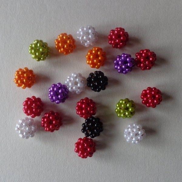 """Guruló """"ötletek"""" - hogyan fűzzünk gömböt? - Mesés gyöngyök"""