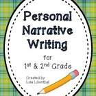 This 40 page personal narrative writing unit will cover 2 or more weeks of writing lesson plans! It is appropriate for 1st and 2nd graders and meet...