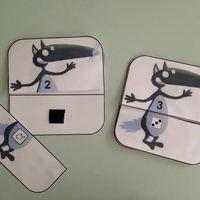 Voici un nouveau jeu auquel les enfants peuvent jouer seul ou à plusieurs avec un dé! Le but: associer le nom de nombres connus avec leur constellation ou doigts de la main   Télécharger «...