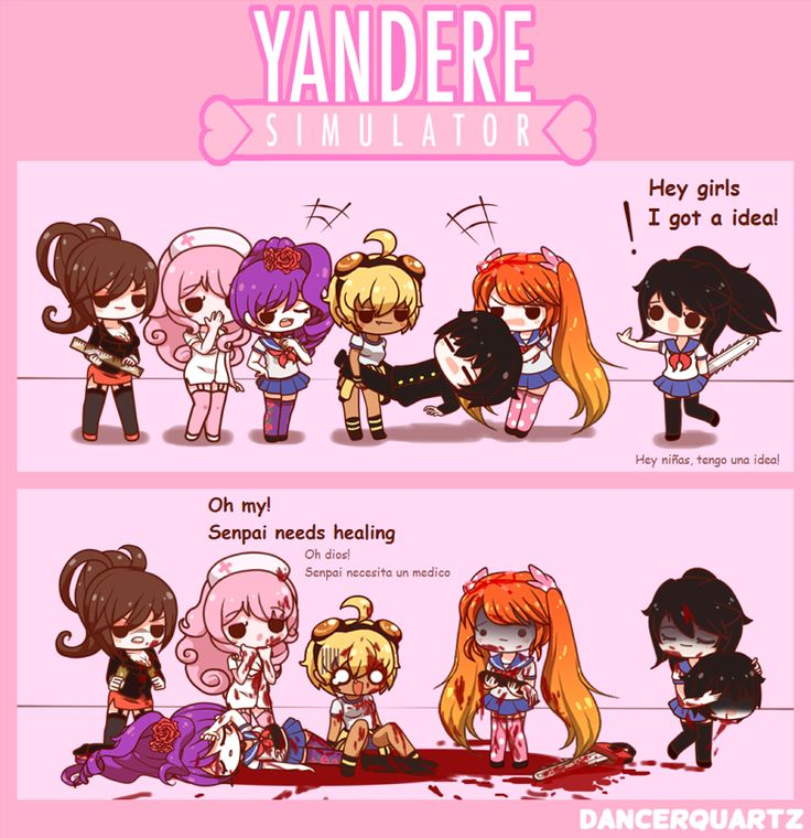 Yandere Comic - Ayano's Happy End by DancerQuartz