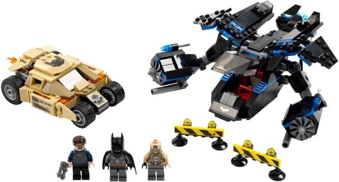 LEGO Super Heroes - Batman vs. BaneT: Tankjagten (76001) /Legetøj cover