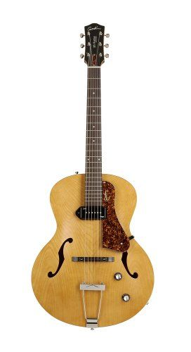 Godin 031979 5th Avenue Archtop JazzStyle Acoustic Guitar Kingpin P90 Natural * Learn more by visiting the image link.Note:It is affiliate link to Amazon.