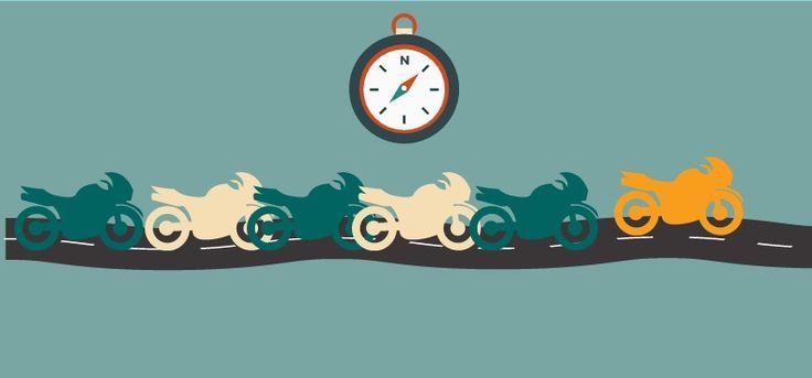 Consejos para viajar en moto en grupo - Peris Correduría de Seguros