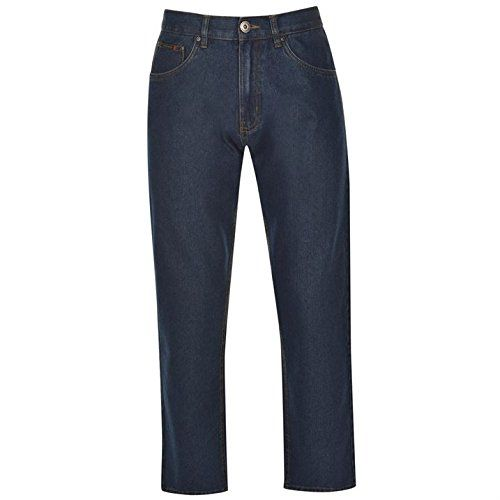 Pierre Cardin Plain Jeans Mens 5 Pocket Design Regular Fit with Single Button Fastening And Zip Fly - Size 30W R - Mid Blue Pierre Cardin http://www.amazon.co.uk/dp/B01B54VATE/ref=cm_sw_r_pi_dp_WwLWwb05X0EP2