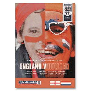 None England v Holland - International Friendly at England v Holland - International Friendly at White Hart Lane, London - 15th August 2001 http://www.comparestoreprices.co.uk/football-shirts/none-england-v-holland--international-friendly-at.asp