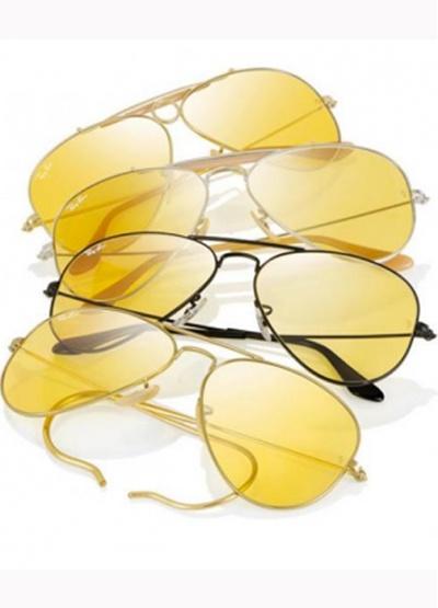 Edition limitée de lunettes aviator de Ray Ban: Outdoorsman, Shooter, aviator classic...