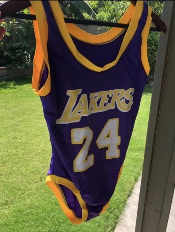 Kobe Bryant Lakers Basketball Jersey Bodysuit **READY TO SHIP ...