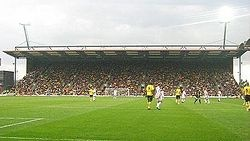 Vicarage Road - home of Watford FC and the former home of Saracens RUFC