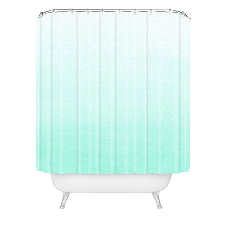 ombre shower curtain 25 best mint curtains ideas on mint green 30442