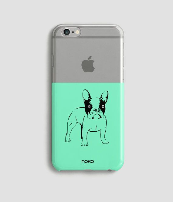 DESCRIPTION: NOKO iPhone Clear Bulldog case. Please select the model and color from the dropdown menu.  Designed in Italy - Made in the USA  The