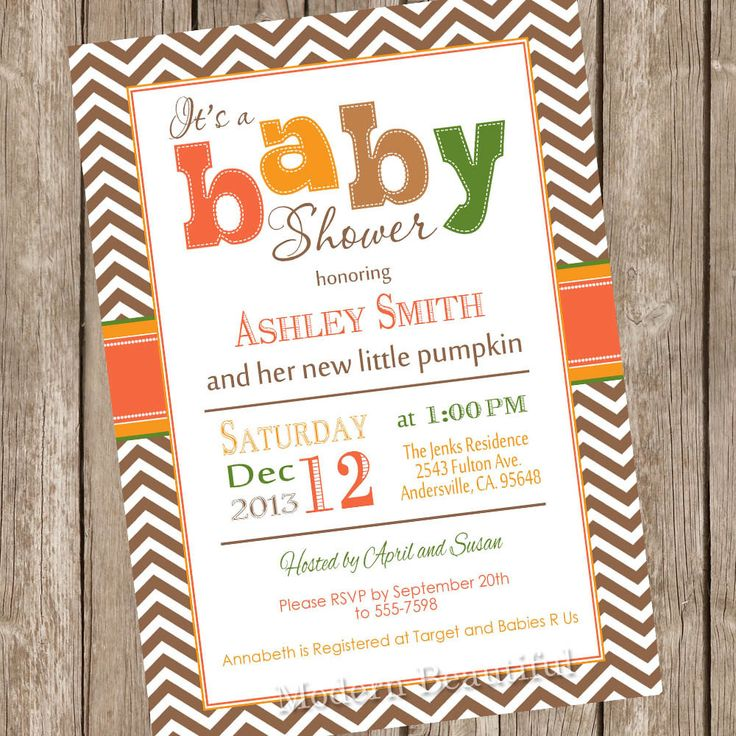 31 best Baby shower images on Pinterest | Baby shower invitations ...