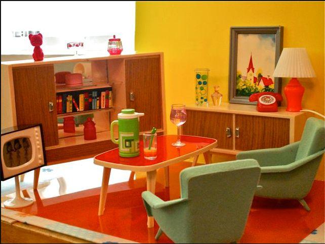 Mid century Dollhouse. 123 best vintage modern dollhouse images on Pinterest   Modern