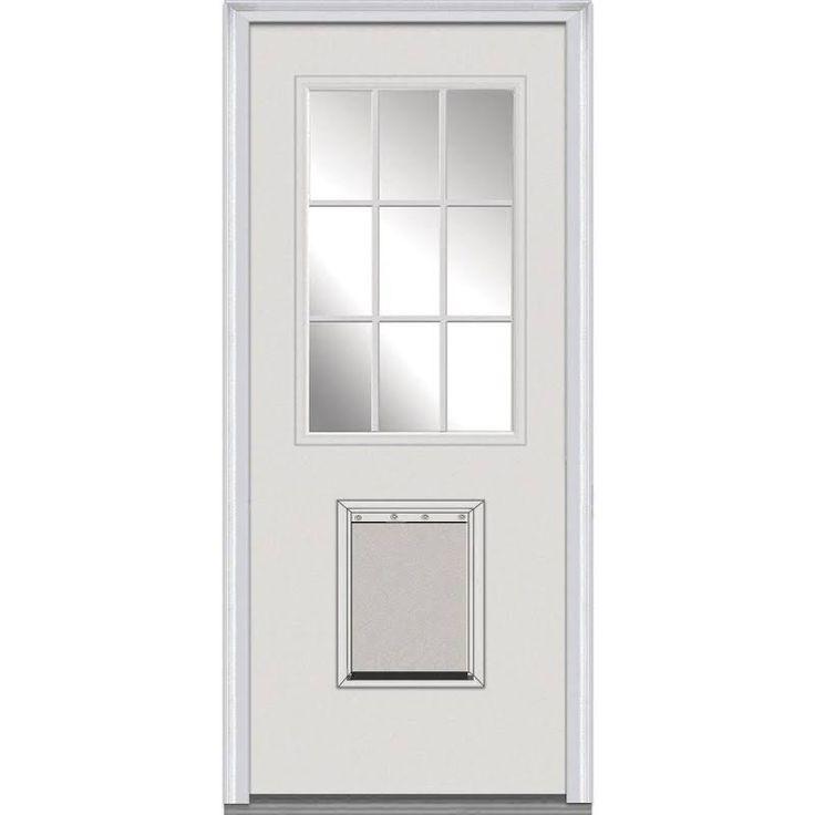 Exterior French Door Half