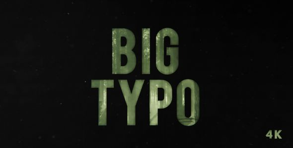 BIG Typo | Opener (Abstract)