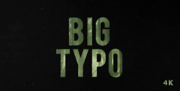 BIG Typo | Opener (Abstract)