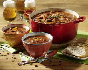 Gulasch-Zwiebel-Suppe