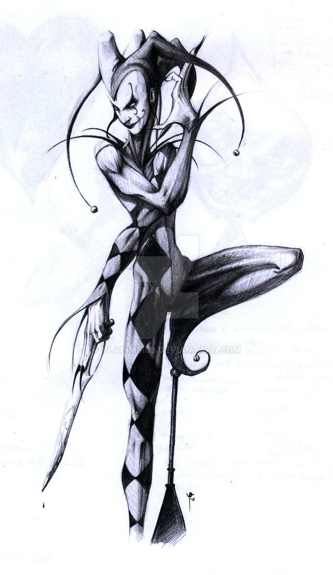 Ah... this is Jester, the deadly Joker... I kreated this character for Vampire Dark Ages... A malkavian krazy Killer....