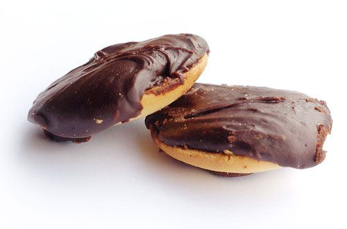 Beware: You may be stuck on the couch after two of these palm-sized, hand-dipped cookies. The homemade recipe hails from Germany, but it's now an iconic part of Baltimore's foodie culture. Talk about chocolate wasted!