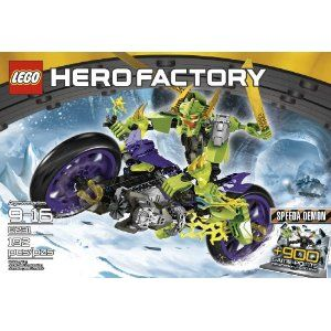 LEGO: Hero Factory: Speeda Demon (62310.  It went together fairly easy, IF you read the directions close enough. being Technica, the bike is VERY sturdy and shouldn't fall apart even in rough play. overall this is a very cool part of the Hero Factory Ling