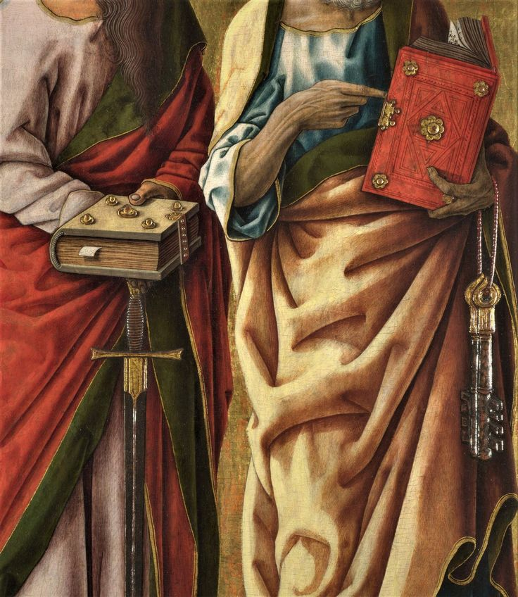 Saints Peter and Paul by Carl Crivelli, 1470