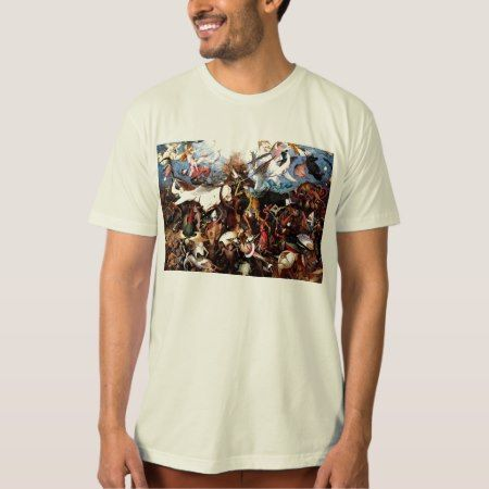 Pieter Bruegel's 'The Fall Of The Rebel Angels' T-Shirt - click to get yours right now!