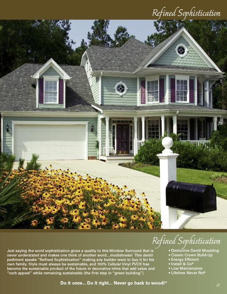 56 Best Images About Houses With Green Siding On Pinterest
