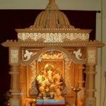 Ganpati Decoration Ideas for Home / Mandap