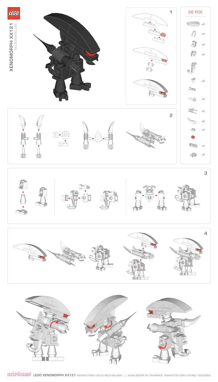 Lego-Xenomorph-Instructions-nelsdrums
