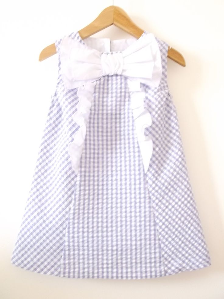 lilac gingham dress..breezy look for the summer...ideal for picnics at the park or summer garden party